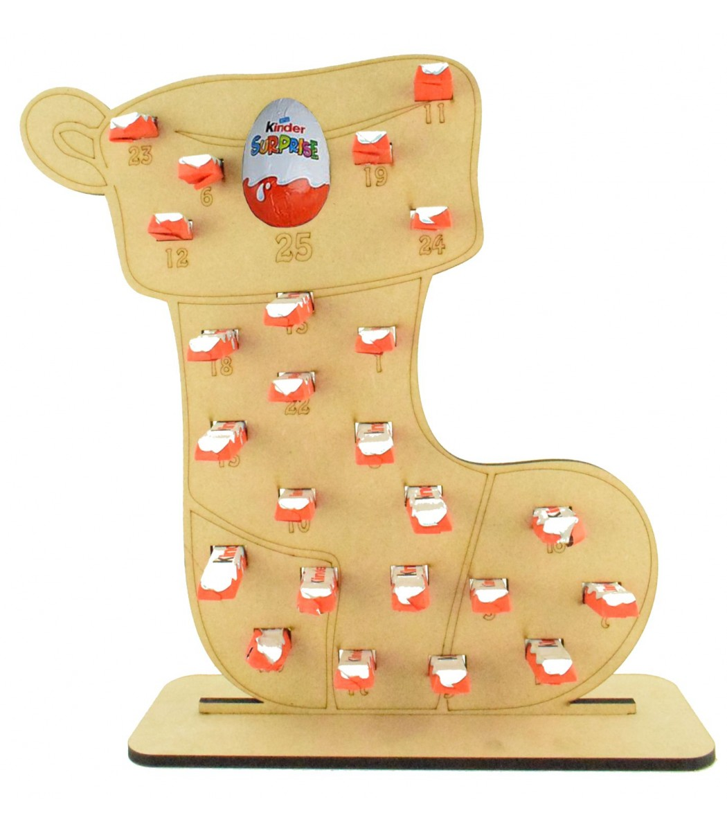 Kinder Egg Chair.6mm Kinder Chocolate Bars Kinder Egg Holder Advent Calendar Stocking