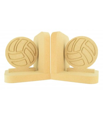 18mm Freestanding MDF Football Pair of Bookends