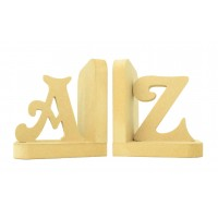 18mm Freestanding MDF Personalised Letter Pair of Bookends